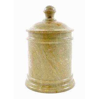 Sahara Beige Marble Classic 8-inch Kitchen Canister