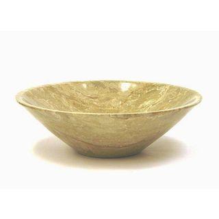 Sahara Beige 9.5-inch Modern Bowl
