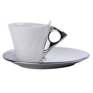 Alpine Cuisine Porcelain 12-piece Demitasse Espresso Turkish Coffee