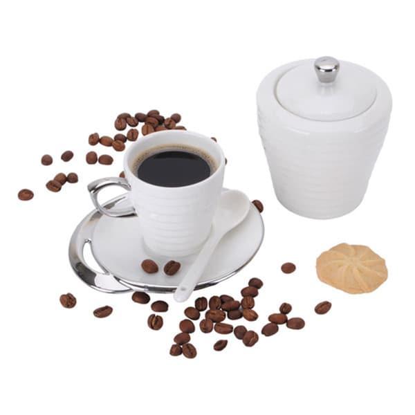 20-piece Service for 6 Porcelain Espresso Turkish Coffee Set 16075288