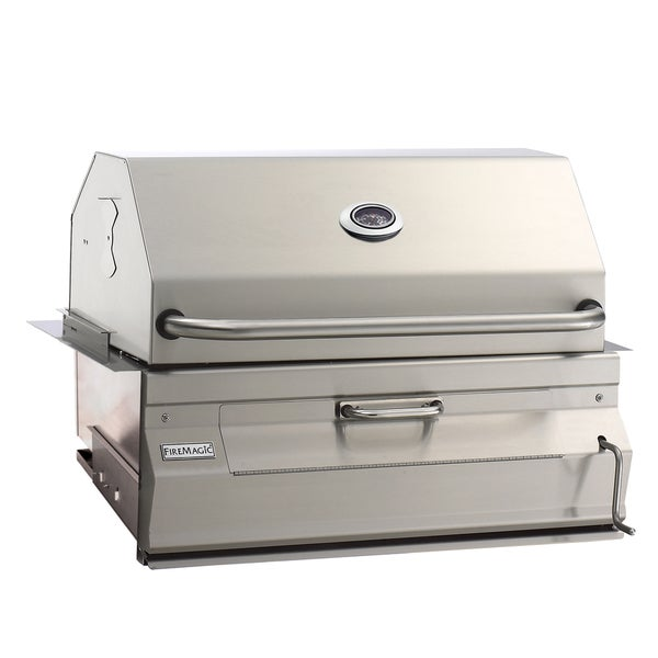 FireMagic 14-SC01C-A Built-In Charcoal Grill with Smoker Oven