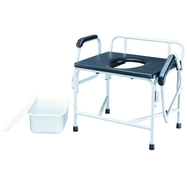 Roscoe Bariatric Drop-Arm Commode