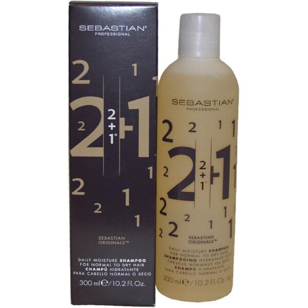 Sebastian 2 + 1 Deep Moisture 10.2-ounce Shampoo