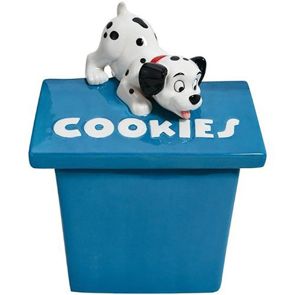 Disney's Playful 101 Dalmations Playful Puppy Cookie Jar