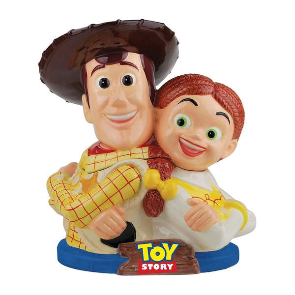 Woody & Jessy Toy Story Ceramic Cookie Jar