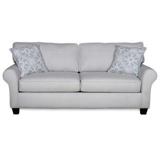 Sofab Bella Lake Gingham Sofa With Two Accent Pillows