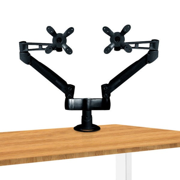Dual Aluminum Monitor Arm