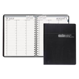 House of Doolittle Professional Academic 2015-2016 Black Weekly Planner