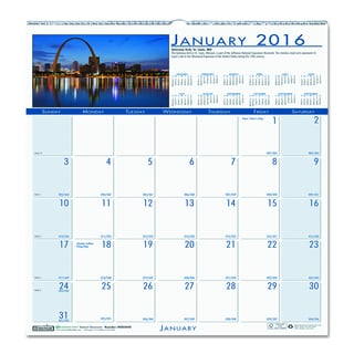 National Monuments 2016 Monthly Wall Calendar