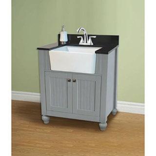 30-inch Grey Single Sink Vanity