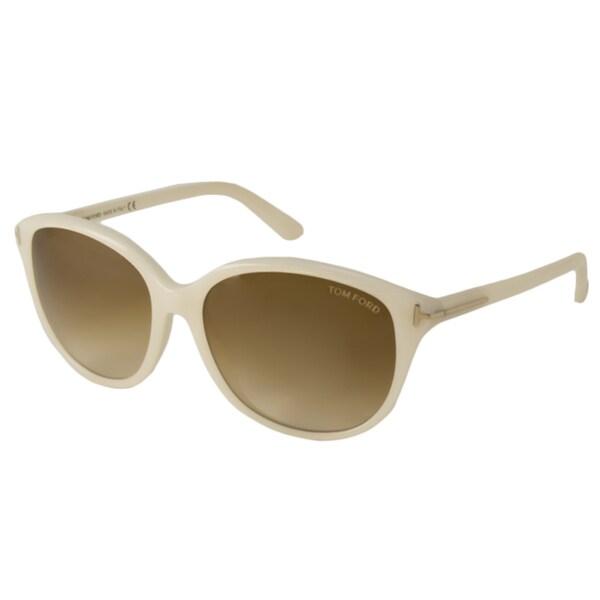 Tom Ford Women's TF329 Karmen Rectangular Sunglasses