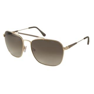 Tom Ford Men's TF377 Edward Aviator Sunglasses