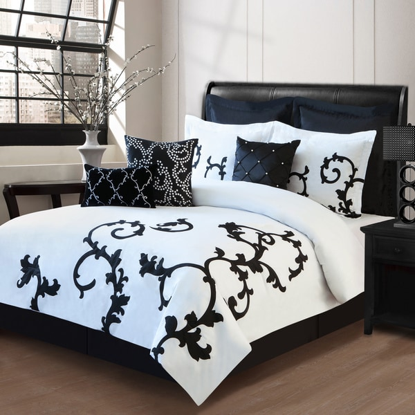 Duchess 9-piece Comforter Set in Queen (As Is Item)