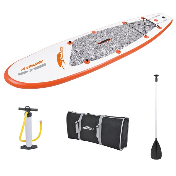Z-Ray PathFinder SUP 10-foot Inflatable Stand-Up Paddleboard Set