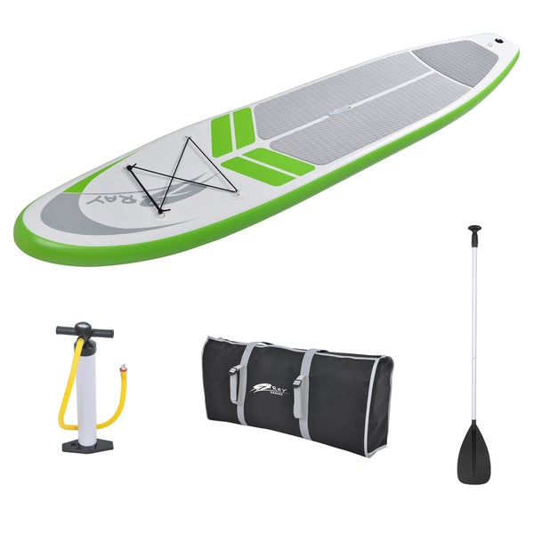 Z-Ray SUP 12-foot Inflatable Stand-Up Paddleboard Set