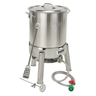 Bayou Classic 800-130 Stainless Steel Homebrew Outdoor Cooking Kit