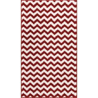 Modern Chevron Geometric Zigazag Stripe Area Rug (2'3 x 3'11)