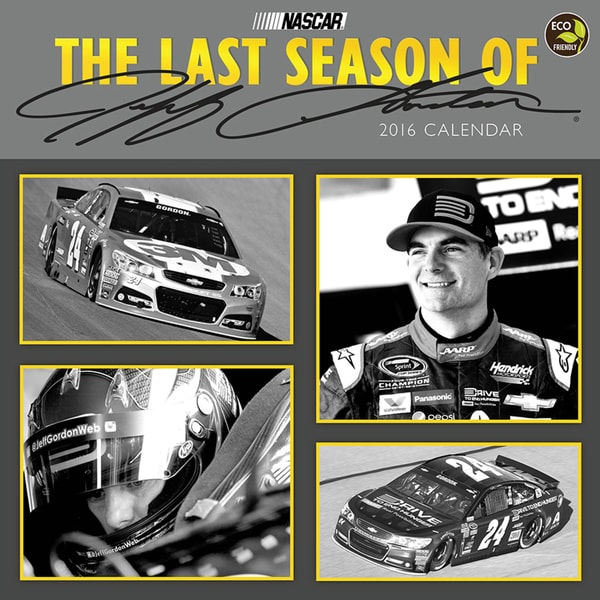 2016 Jeff Gordon Wall Calendar