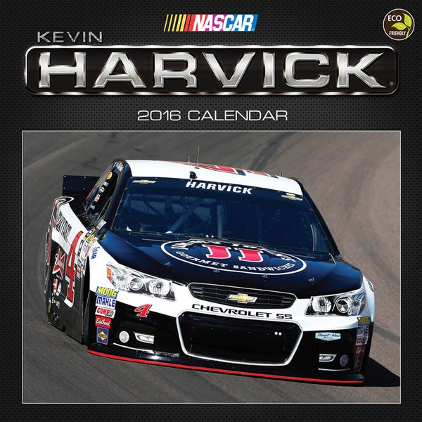 2016 Kevin Harvick Wall Calendar