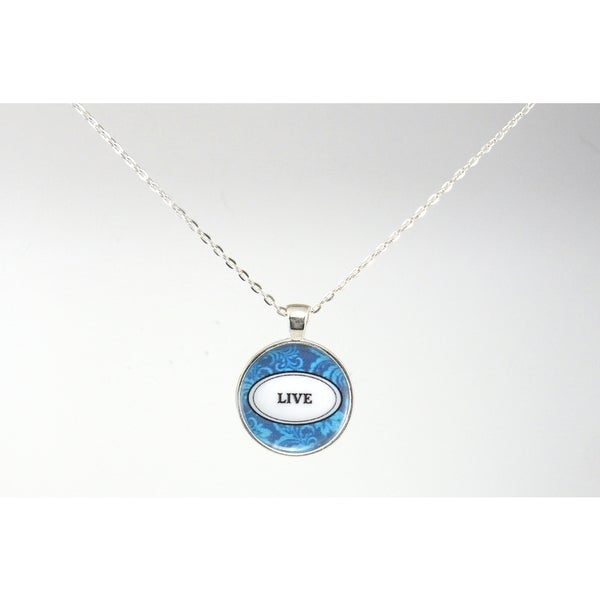 "Be The Envy ""Live"" Necklace"