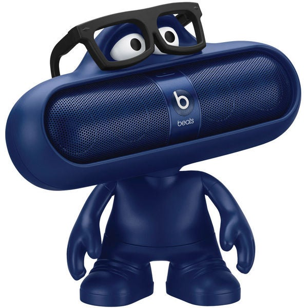 Beats by Dr. Dre pill character (Blue)