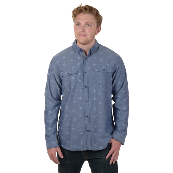 Vance Co. Men's Long Sleeve Button-up Shirt