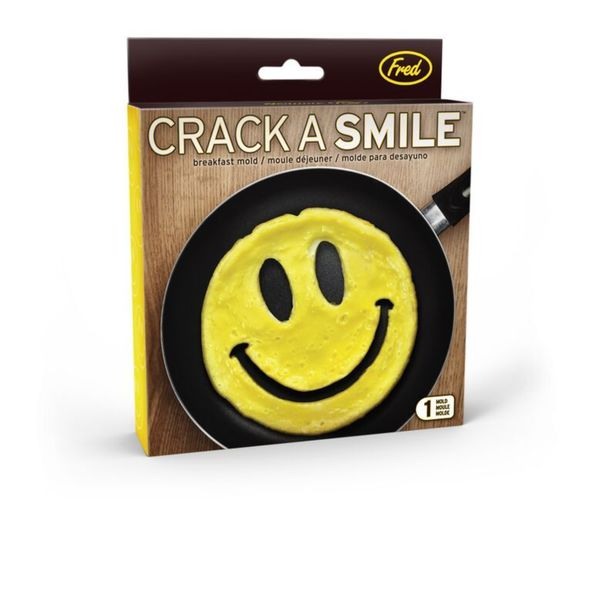 Fred and Friends Crack a Smile Egg Mold
