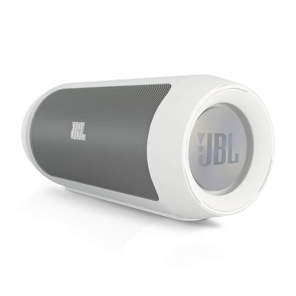 JBL Charge 2 Portable Stereo Speaker (White)
