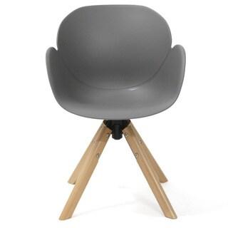 Jasmine Modern 360-degree Swivel Chair (Set of 2)