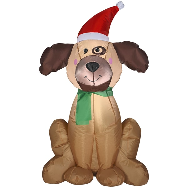 Holiday Dog Indoor/ Outdoor Inflatable