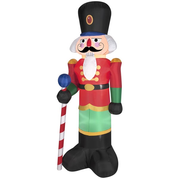 Red Nutcracker Indoor/ Outdoor Inflatable