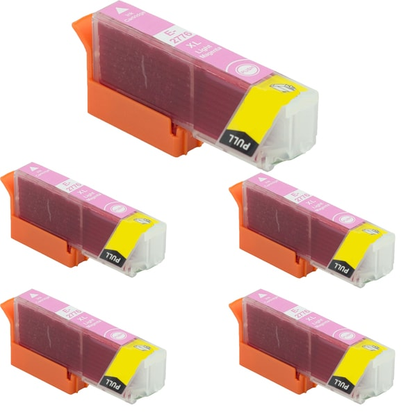 Epson T2776 Light Magenta Compatible Inkjet Cartridge for Epson XP-850 XP-950 (Pack of 5)