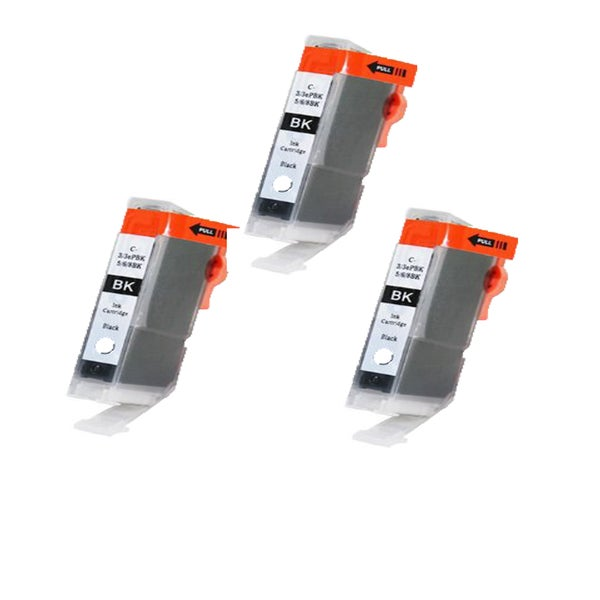 Canon CAN-TY3/3ePBK/5/6BK Compatible Inkjet Cartridge for Canon S400 S450 (Pack of 3)