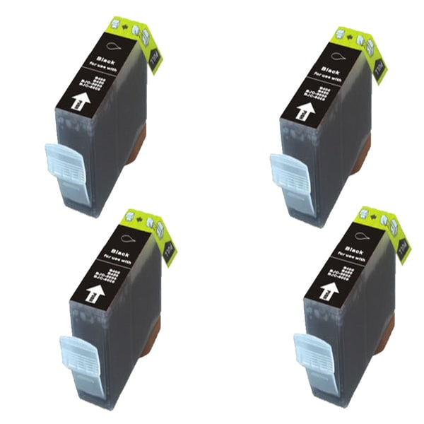 Canon CAN-TY3/3ePBK/5/6BK Compatible Inkjet Cartridge for Canon S400 S450 (Pack of 4)