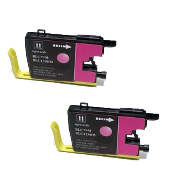 Brother LC79 M Compatible Inkjet Cartridge for MFCAN-J6510DW MFCAN-J6710DW MFCAN-J6910DW (Pack of 2)