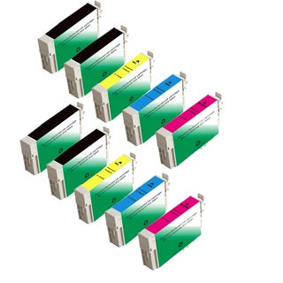 Epson T1251 T1252 T1253 T1254 Compatible Inkjet Cartridge for NX125 NX127 NX130 NX230 (Pack of 10)