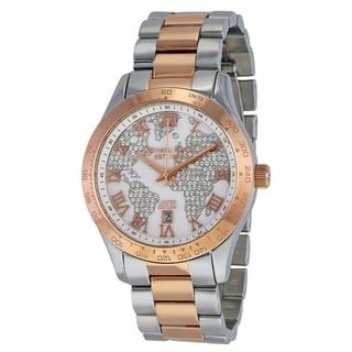 Michael Kors Women's MK6129 'Limited Edition' Crystal Two-Tone Stainless Steel Watch