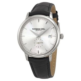 Raymond Weil Men's 5484-STC-65001 'Toccata' Black Leather Watch