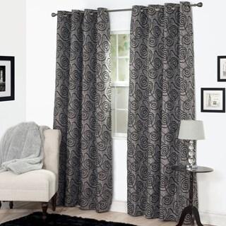 Windsor Home Joy Jacquard Curtain Panel