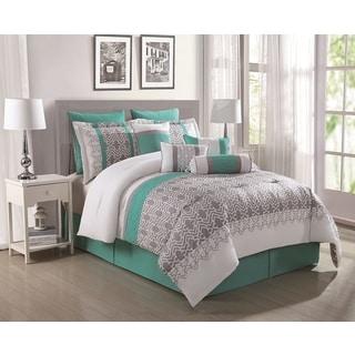 Luna 10-piece Reversible Comforter Set