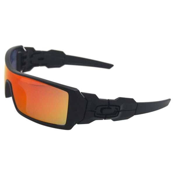 Oakley Oil Rig 26-250 - Polished Black/Ruby Iridium