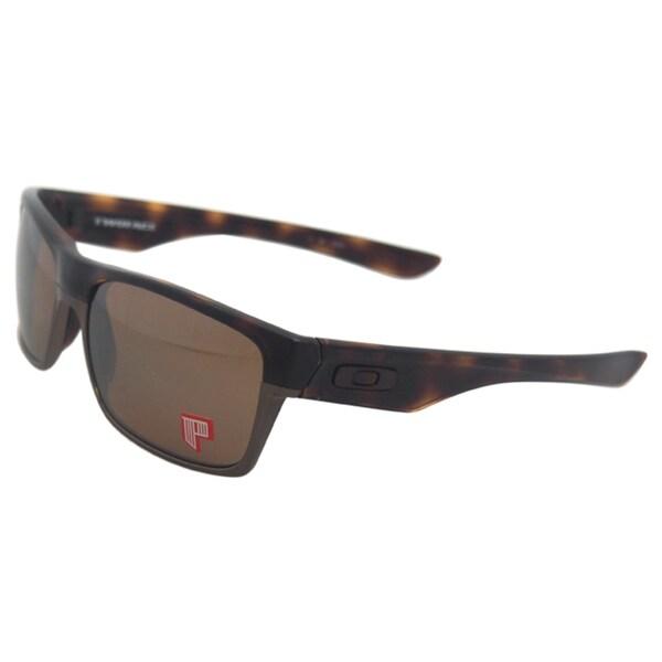 Oakley TwoFace OO9189-17 - Tortoise/Tungsten Iridium Polarized