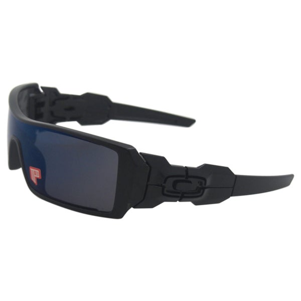 Oakley Oil Rig 26-248 - Polished Black/Ice Iridium Polarized