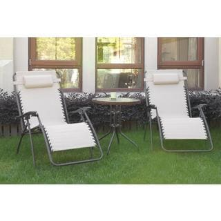 Bolinas PoolSide Charcoal, Cream 3-piece Set