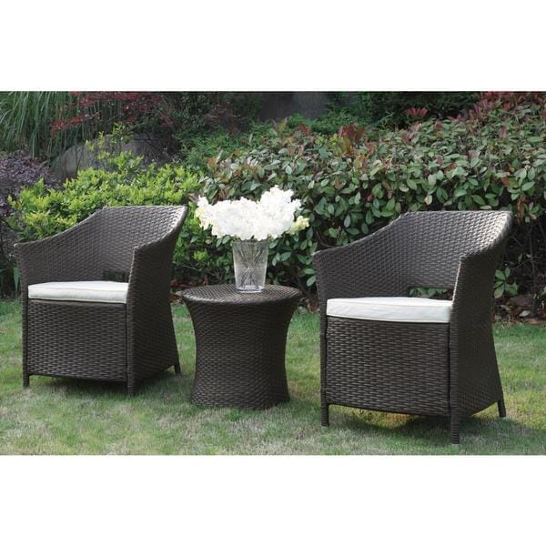 Bolinas Leisure Brown 3-piece Bistro Set