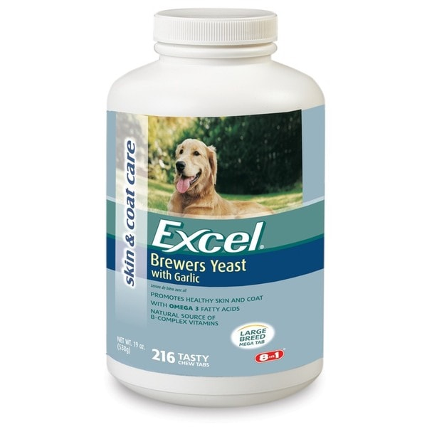 8-in-1 Excel Nutricoat Brewers Yeast for Large Dogs
