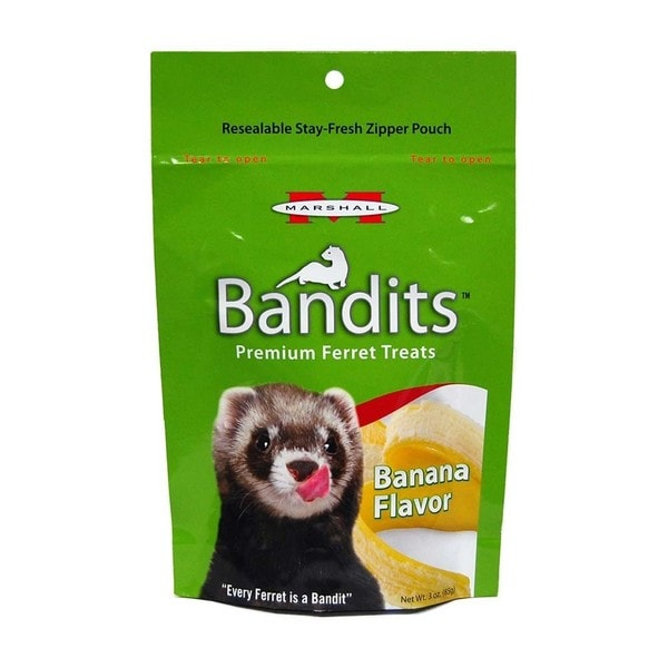 Marshall Bandits Ferret Banana Treats
