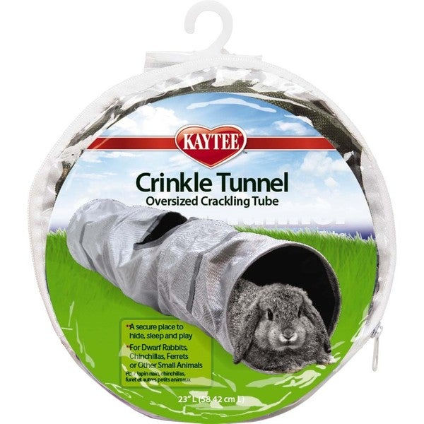 KAYTEE Crinkle Tunnel for Small Animals