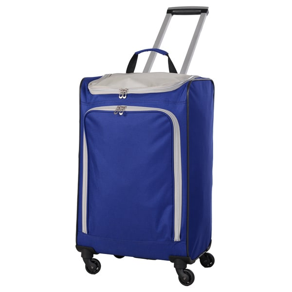 American Flyer Blue Ultimate Shopper 24-inch Spinner Shopper Tote (As Is Item) 31407371