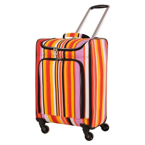 American Flyer Yellow/ Orange Ultimate Shopper 24-inch Spinner